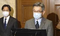 Bộ trưởng Thông tin và Nội vụ Nhật Bản Ryota Takeda. (Ảnh: Kyodo)