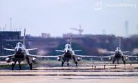Các máy bay tiêm kích J-10 thuộc Quân khu miền đông Trung Quốc. (Ảnh: China Military)