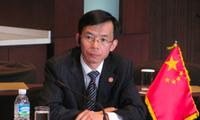 Đại sứ Trung Quốc tại Pháp Lu Shaye. (Ảnh: China Daily)
