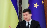 Tổng thống Ukraine Volodymyr Zelenskiy. (Ảnh: Reuters)