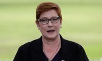 Ngoại trưởng Úc Marise Payne. (Ảnh: AP)