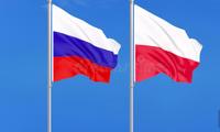 Quốc kỳ Nga và Ba Lan