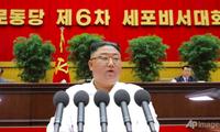 Nhà lãnh đạo Triều Tiên Kim Jong Un. (Ảnh: AP)
