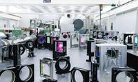 Các thiết bị laser ở Thượng Hải. (Ảnh: Viện Khoa học Trung Quốc)