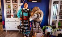 Chị Ramalda Mountainlion, một phụ nữ thổ dân sống trong khu bảo tồn thuộc bang Utah. (Ảnh: National Geographic)