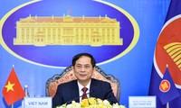 Bộ trưởng Ngoại giao Bùi Thanh Sơn dự khai mạc Hội nghị các bộ trưởng ngoại giao ASEAN ngày 2/8 (Ảnh: Mofa)
