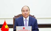 Chủ tịch nước Nguyễn Xuân Phúc. (Ảnh: TTXVN)
