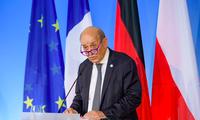 Ngoại trưởng Pháp Jean-Yves Le Drian. (Ảnh: Reuters)