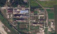 Ảnh vệ tinh chụp khu tổ hợp hạt nhân Yongbyon. (Ảnh: AP)
