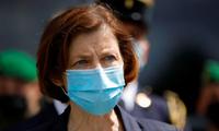 Bộ trưởng Quốc phòng Pháp Florence Parly. (Ảnh: Reuters)