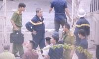 Lực lượng chức năng có mặt tại trường Pascal giải cứu người bị giam giữ.