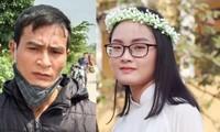 Nữ sinh 18 tuổi Trần Thuý Hiền và nghi can giết người Nguyễn Xuân Trung
