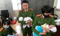 Lực lượng chức năng giải cứu nhiều bé sơ sinh trong đường dây.