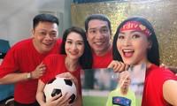 Vân Hugo làm thơ, MC - BTV của VTV sang Trung Quốc cổ vũ U23 Việt Nam