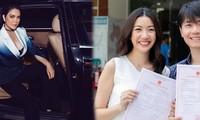 Showbiz 25/5: Lý Nhã Kỳ ngồi xe 40 tỷ đồng đi dự event, Thúy Vân đăng kí kết hôn