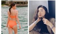 Phạm Quỳnh Anh diện bikini khoe sắc vóc mẹ 2 con, Ngô Thanh Vân liên tục thả tính trên MXH