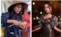 """Thủy Tiên ăn vội bát mì tôm để đi cứu trợ; Lynk Lee """"xéo sắc"""" đáp trả antifan"""