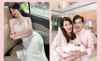 """Elly Trần hóa """"công chúa ngủ trong ô tô""""; vợ chồng Đông Nhi vui mừng đón con gái về nhà"""