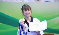 """Nhan sắc tươi tắn của """"hoa khôi"""" Taekwondo tham gia ứng cử đại biểu HĐND TP. HCM."""