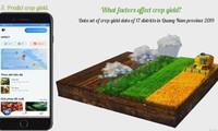 Phần mềm hỗ trợ nông dân của ba sinh viên ĐH Đà Nẵng