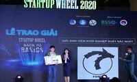 """Những sinh viên biến rác thải thành gạch và chiến thắng """"Startup Wheel 2020"""""""
