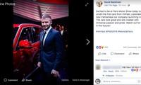 David Beckham viết cảm xúc về Vinfast trên trang cá nhân gây sốt