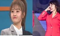Bị chỉ trích 'không xứng đáng để cầm micro', chị cả T-ara nghẹn ngào lên tiếng