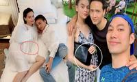 Hồ Ngọc Hà mang bầu với Kim Lý ?