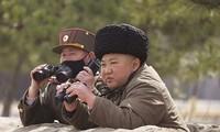 Kim Jong-un trực tiếp tham gia chỉ đạo cuộc tập trận pháo binh