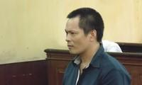 Shao Minh tại phiên tòa phúc thẩm sáng nay 28/4. Ảnh: Tân Châu.