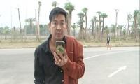 Trần Đình Sang thường phát trực tiếp hình ảnh về cảnh sát giao thông. Ảnh: VnExpress