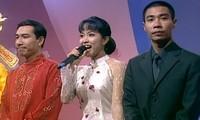 MC Thảo Vân, nghệ sĩ Công Lý, Quang Thắng trong những số Táo quân đầu tiên.