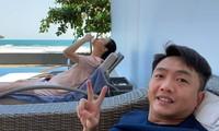 Cường Đô la đăng ảnh 'dìm hàng', Đàm Thu Trang vướng nghi vấn mang bầu