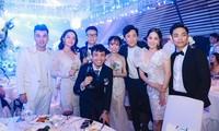 Đám cưới ái nữ của đại gia Minh Nhựa có sự xuất hiện của nhiều sao Việt.