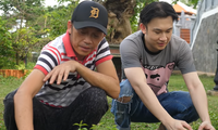 Dương Triệu Vũ thường tới nhà thờ Tổ nghiệp thăm anh trai Hoài Linh.