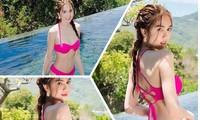 Ngọc Trinh tung ảnh bikini mừng sinh nhật tuổi 31