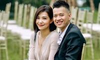 Lưu Đê Ly và ông xã Huy DX.