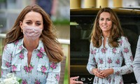 Bí quyết đeo khẩu trang vẫn xinh đẹp rạng ngời như Công nương Kate