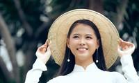 Mê mẩn ngắm cô gái có mặt 'đẹp như trăng rằm' dự thi Hoa hậu Việt Nam 2020