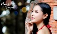 Cô gái có mái tóc dài gần 1 mét dự thi Hoa hậu Việt Nam 2020