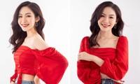 Cô gái đẹp 'sương sương' như Hoa hậu Thu Thảo tại Hoa hậu Việt Nam 2020