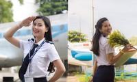 Nữ sinh Học viện Hàng không có thành tích siêu 'khủng' dự thi Hoa hậu Việt Nam 2020