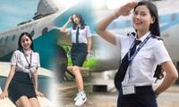 Sắc vóc ba nữ sinh Học viện Hàng không dự thi Hoa hậu Việt Nam 2020