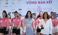Tiểu Vy mặc gợi cảm hướng dẫn thí sinh hoa hậu catwalk và nhắn nhủ điều quan trọng
