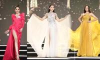 Top 40 Hoa hậu Việt Nam 2020 khoe dáng quyến rũ với trang phục dạ hội