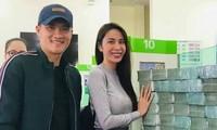 Thủy Tiên công khai giải ngân 177 tỷ đồng từ thiện, Công Vinh tuyên bố 'sốc'