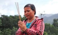 Về lại Trà Leng sau 30 ngày sạt lở kinh hoàng: Thẫn thờ dõi tìm người mất tích