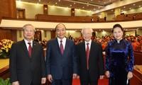 Hình ảnh khai mạc Hội nghị lần thứ 14 Ban Chấp hành T.Ư Đảng khóa XII