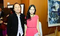 Vợ chồng ca sĩ Hà Phương.