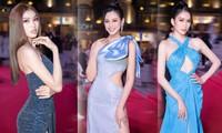 Top 3 Hoa hậu Việt Nam 2020 diện váy cắt xẻ khoe triệt để đường cong gợi cảm